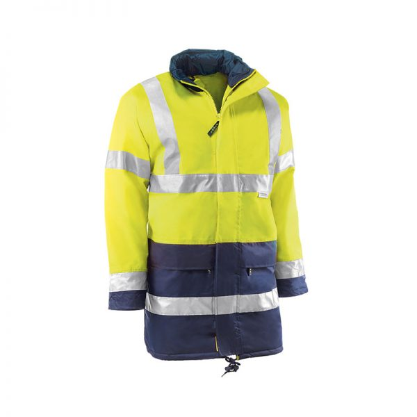 parka-juba-alta-visibilidad-glasgow-hv741-amarillo-fluor-azul