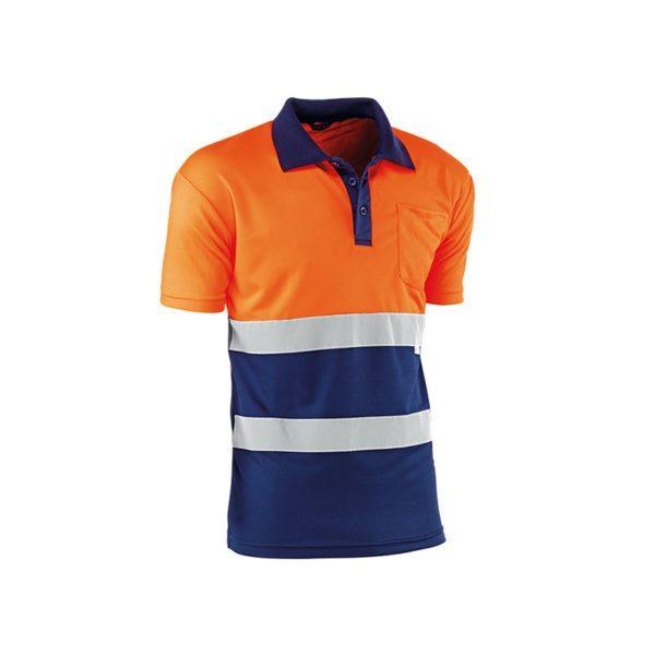 polo-juba-eire-hv730bcazul-naranja-fluor-azul