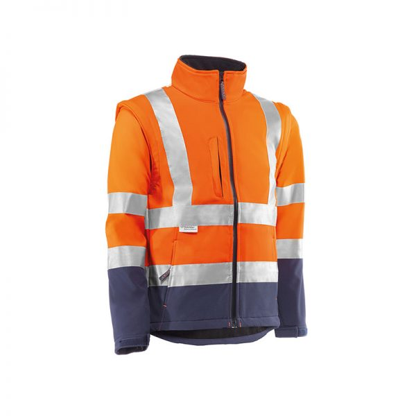 softhsell-juba-desmontable-alta-visibilida-alpe-hv9820-naranja-fluor-azul