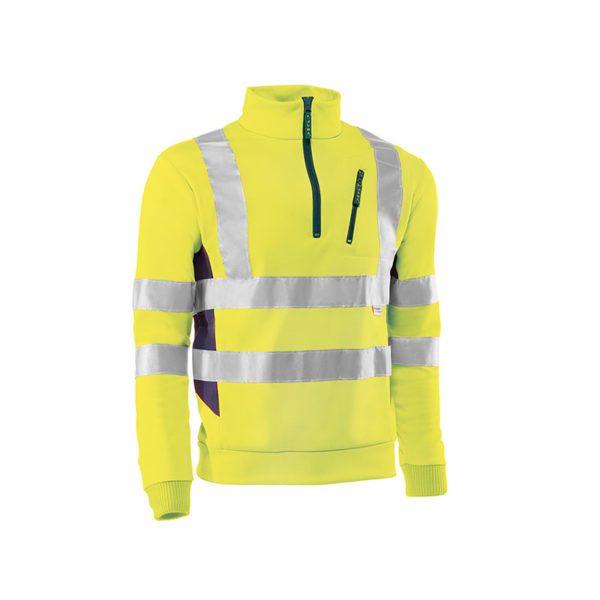 sudadera-juba-alta-visibilidad-stratatos-hv790-amarillo-fluor