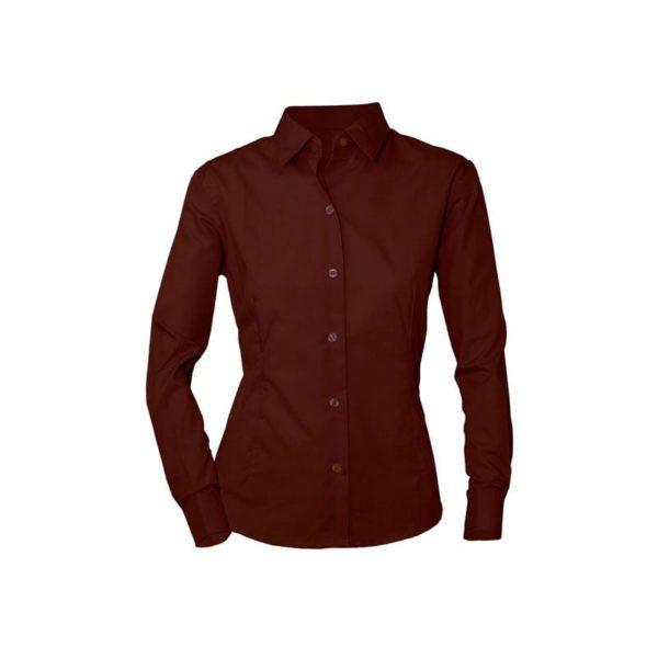 camisa-adversia-3602c-galerna-chocolate