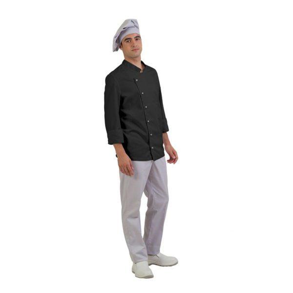 chaqueta-cocina-eurosavoy-113003c-verona-negro