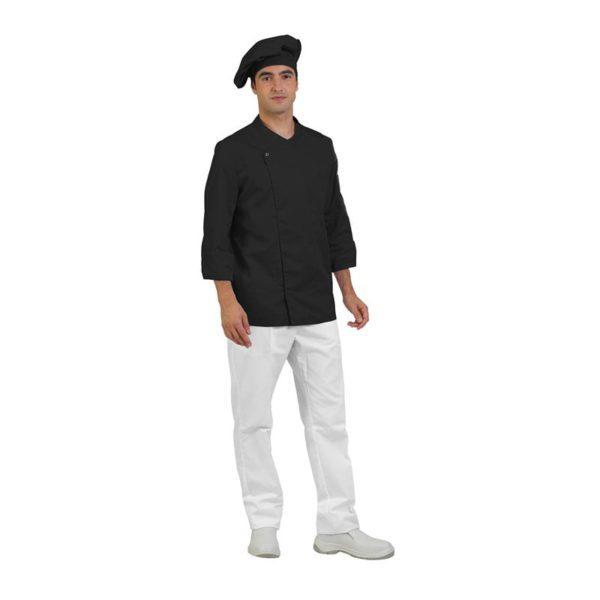 chaqueta-cocina-eurosavoy-113004c-bari-negro
