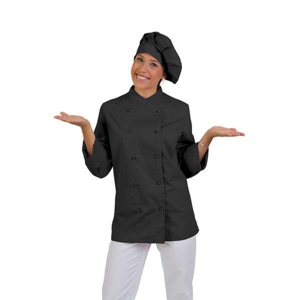 chaqueta-de-cocina-eurosavoy-113202c-asti-negro