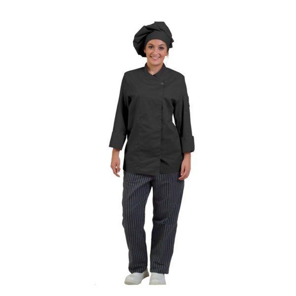 chaqueta-de-cocina-eurosavoy-113204c-gela-negro