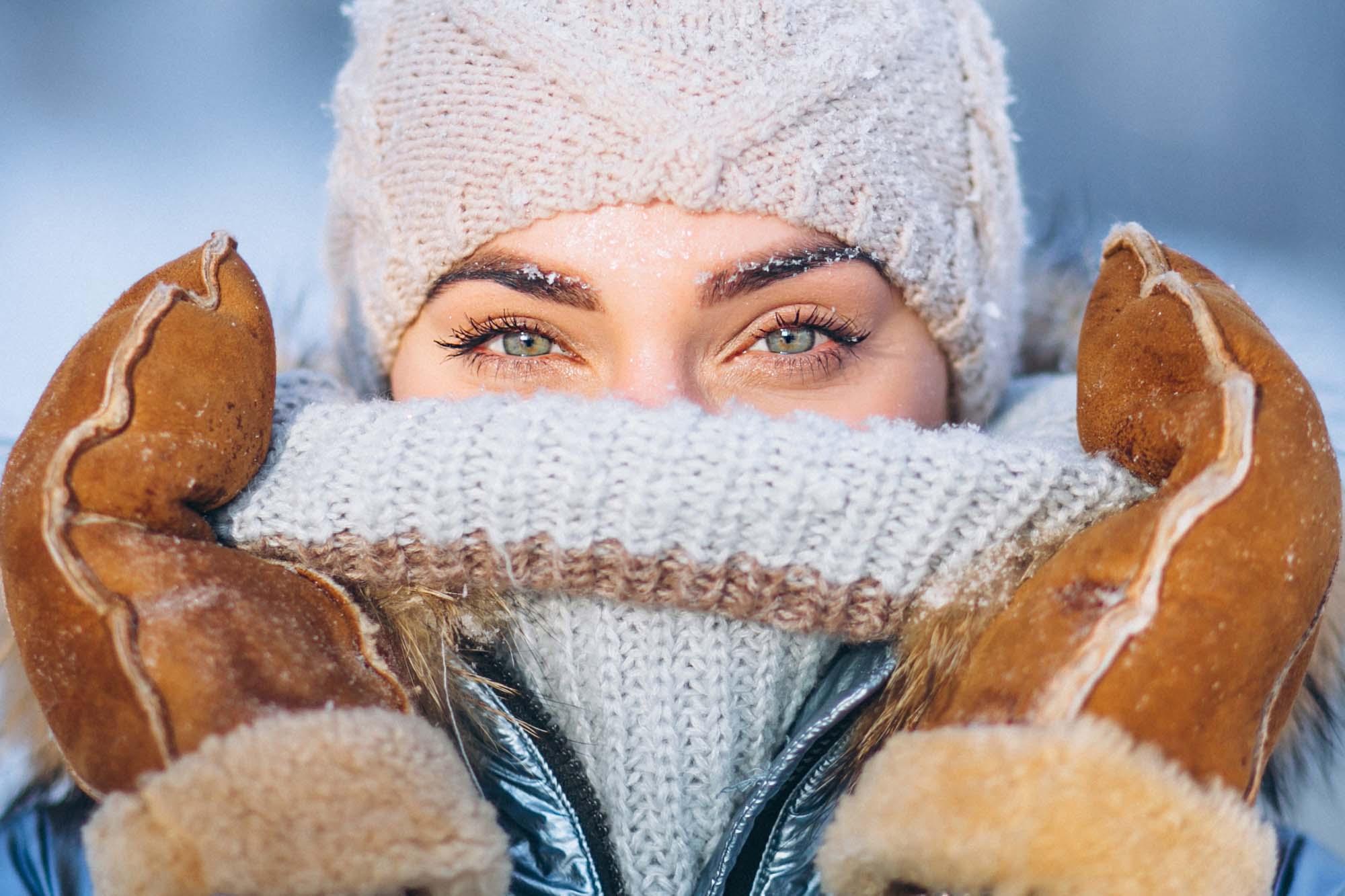 Prepárate para el invierno. Aprende a abrigarte