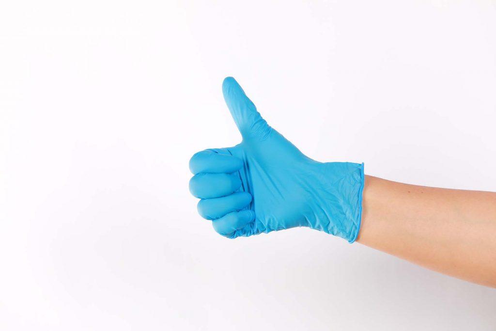 guantes de trabajo en workima